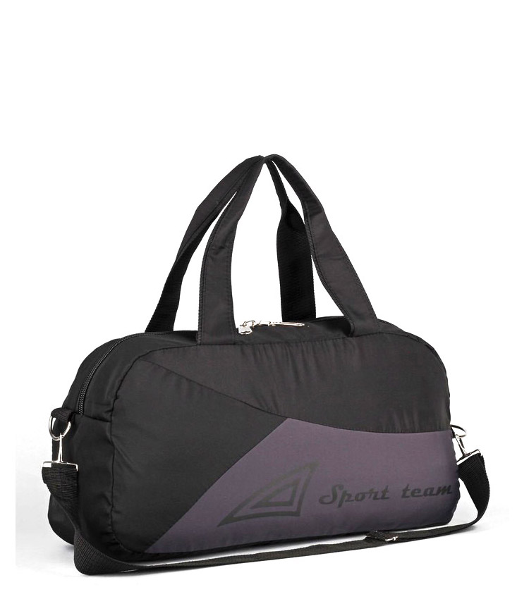 Спортивная сумка Capline Sport Team gray-black