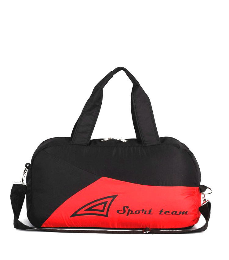 Спортивная сумка Capline Sport Team red-black