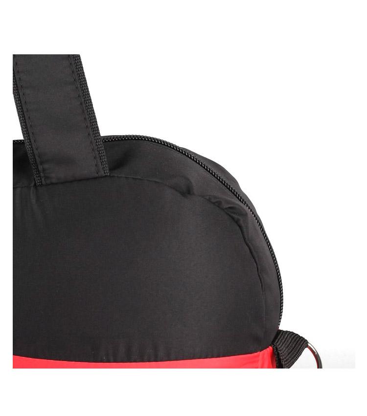 Спортивная сумка Capline Sport Team red-black