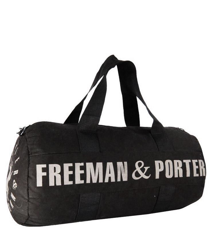 Спортивная сумка Freeman black