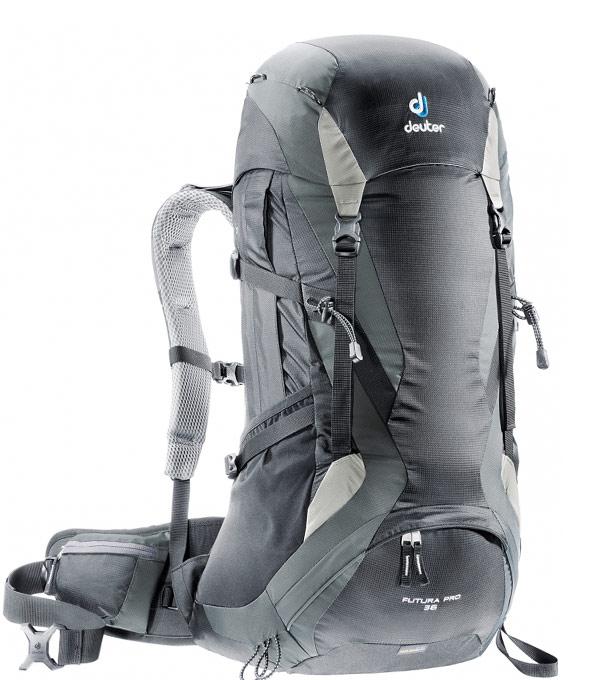 Туристический рюкзак Deuter FuturaPro 36 black-granite