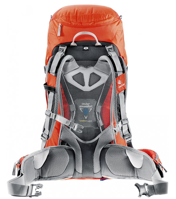 Туристический рюкзак Deuter Futura 42 fire-granite