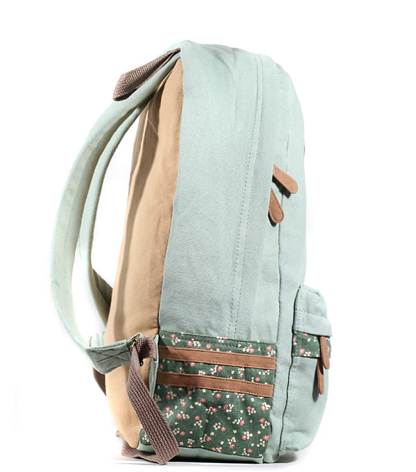 Женский рюкзак Bonjour Luck салатовый