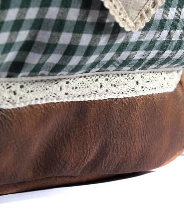 Женский рюкзак Bonjour ethnic brown-green