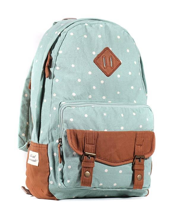 Женский рюкзак Bonjour Sky бирюзовый