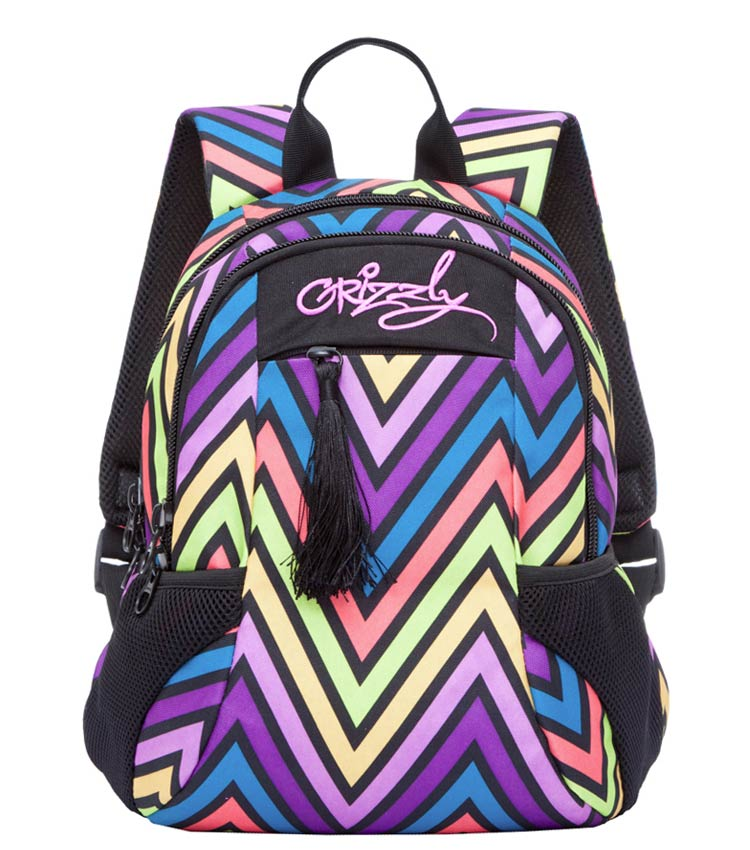 Рюкзак Grizzly RD-741-2 color zig-zag