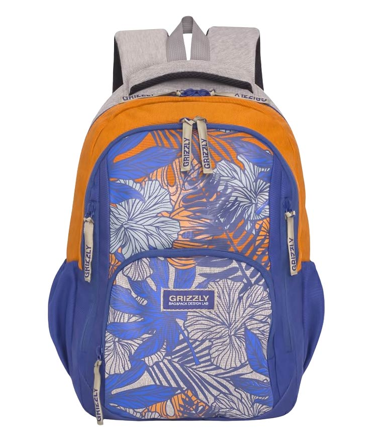 Рюкзак Grizzly RD-754-1 orange-blue