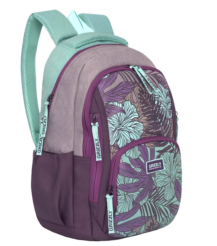 Рюкзак Grizzly RD-754-1 purple-mint