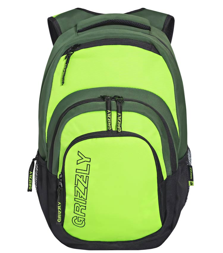 Рюкзак Grizzly RU-704-1 green-lime