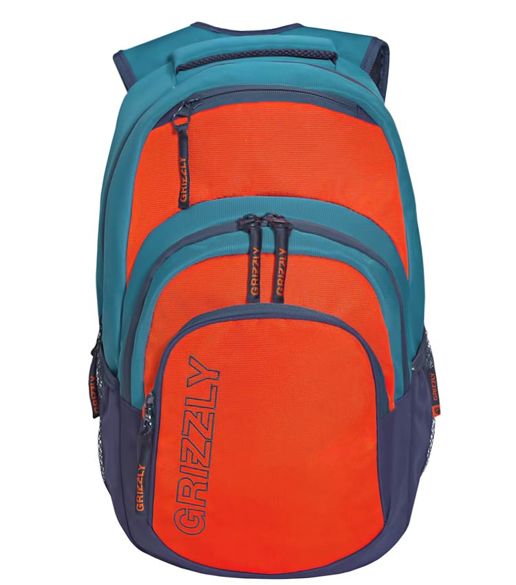 Рюкзак Grizzly RU-704-1 red-aqua