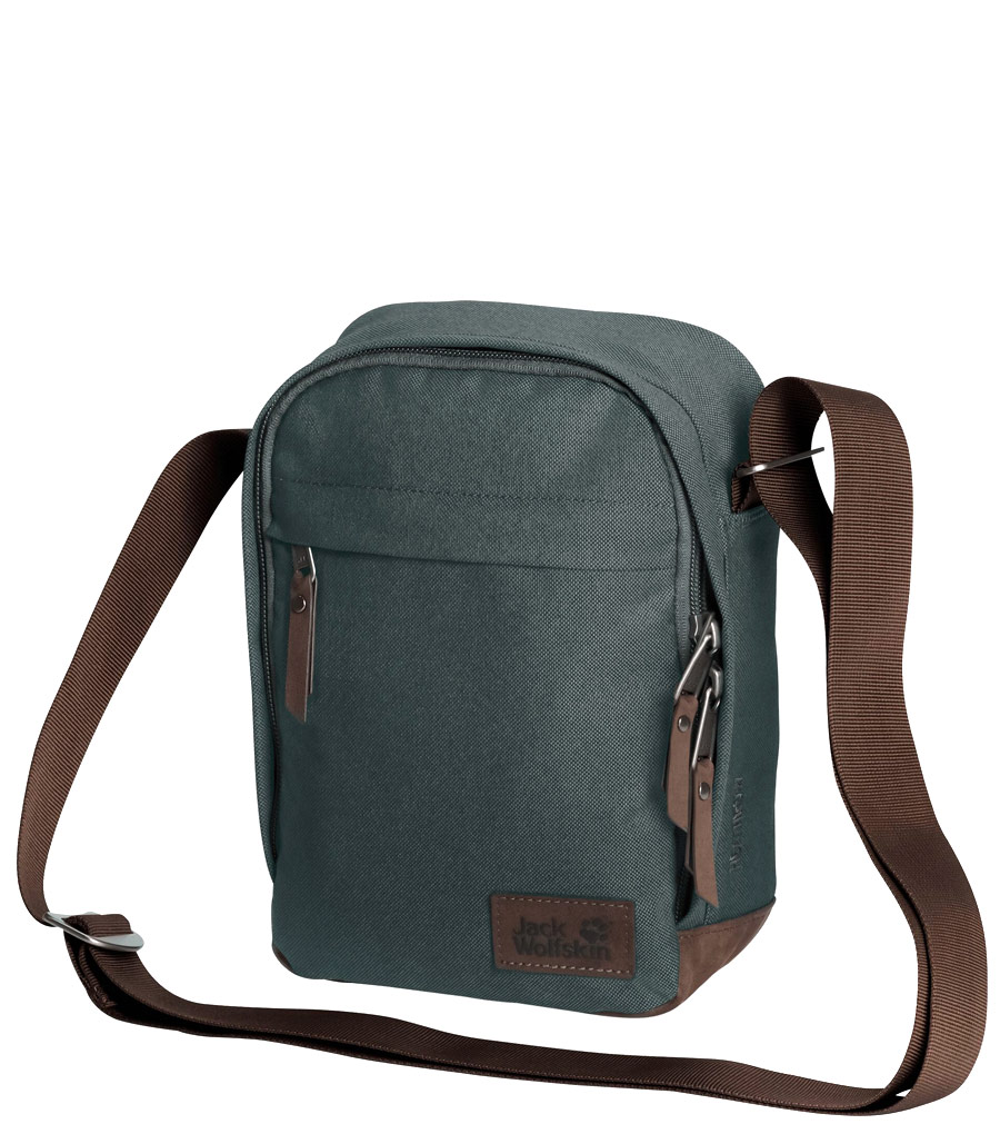 Сумка на плечо Jack Wolfskin Heathrow greenish grey