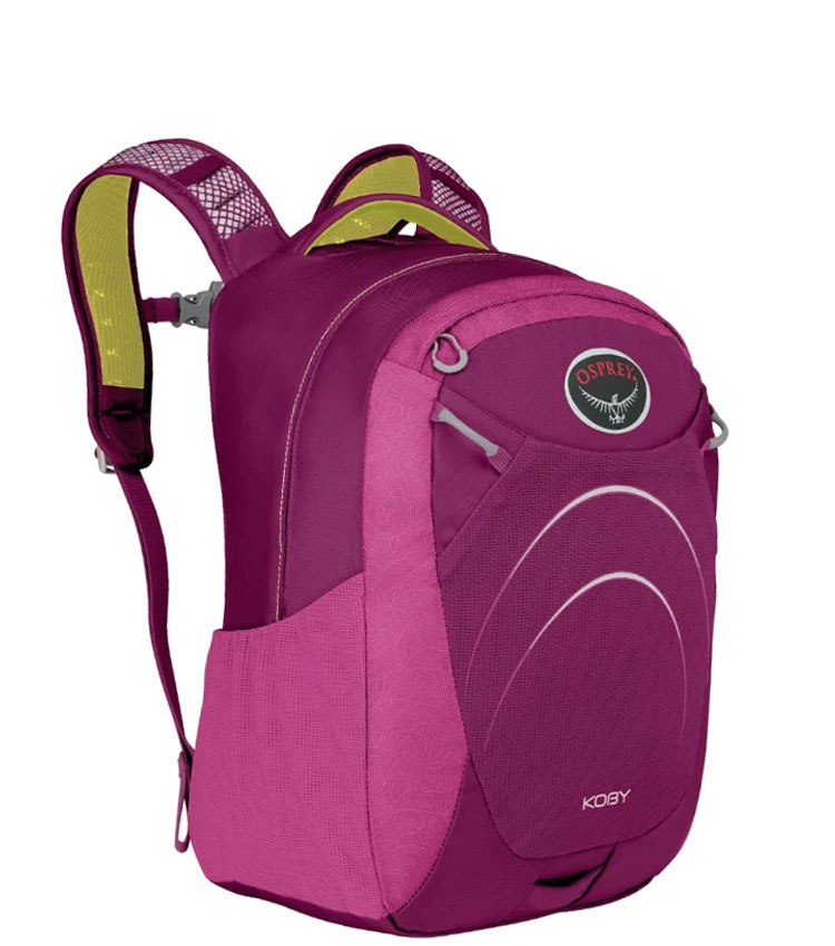 Детский рюкзак Osprey Koby 20 black Playful Purple