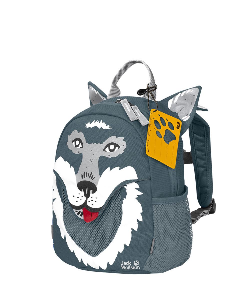 Детский рюкзак Jack Wolfskin LITTLE JACK Storm Grey