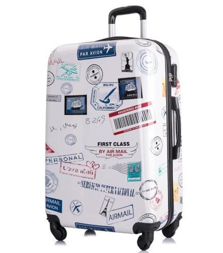 Большой чемодан L-case Mail (72 см)