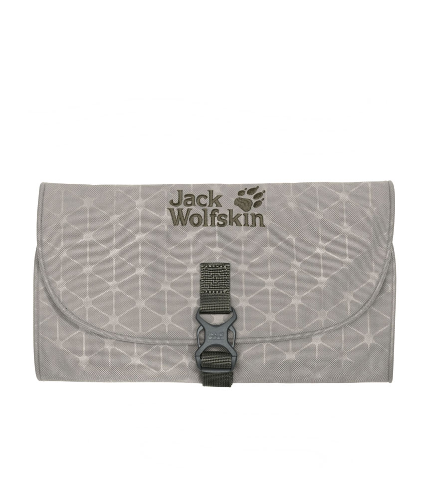 Несессер Jack Wolfskin mini WASCHSALON Clay Grey Grid