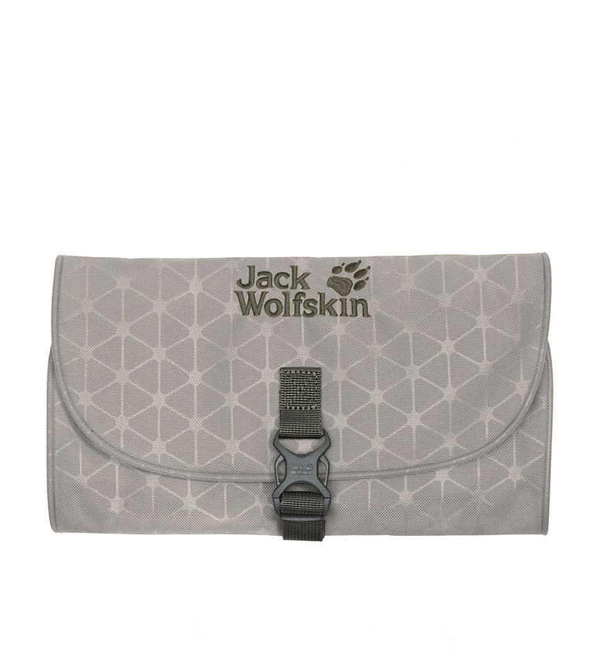 Несессер Jack Wolfskin mini WASCHSALON Clay Grey Grid