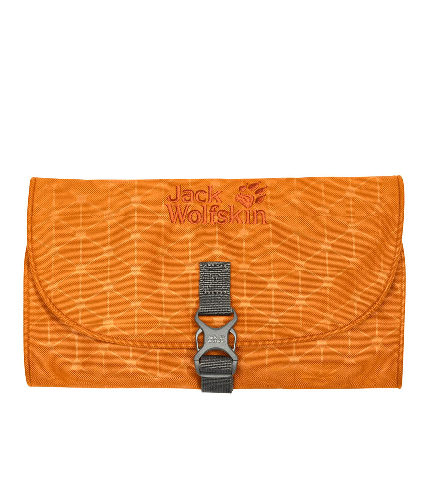 Несессер JackWolfskin Mini waschsalon Orange Grid