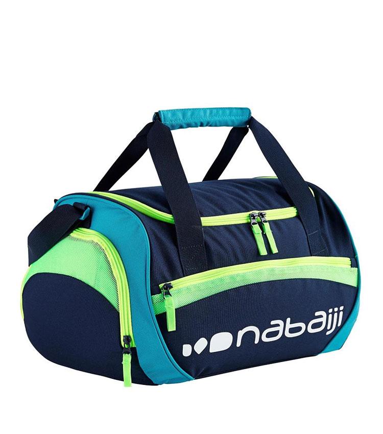 Спортивная сумка Nabaiji 30 L blue-lime