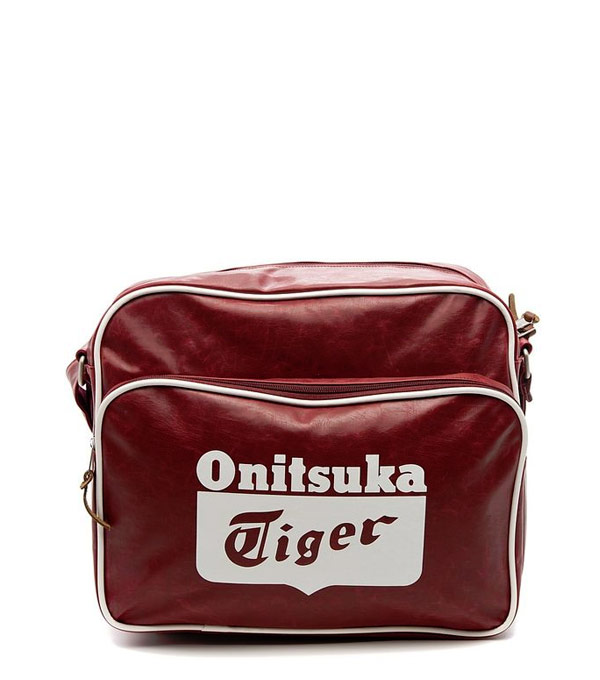 Городская сумка Onitsuka Tiger Messenger bag bordo
