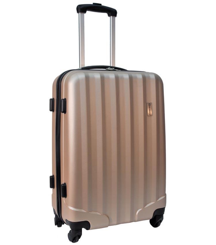Средний чемодан спиннер Paso 19-1602D (67см)