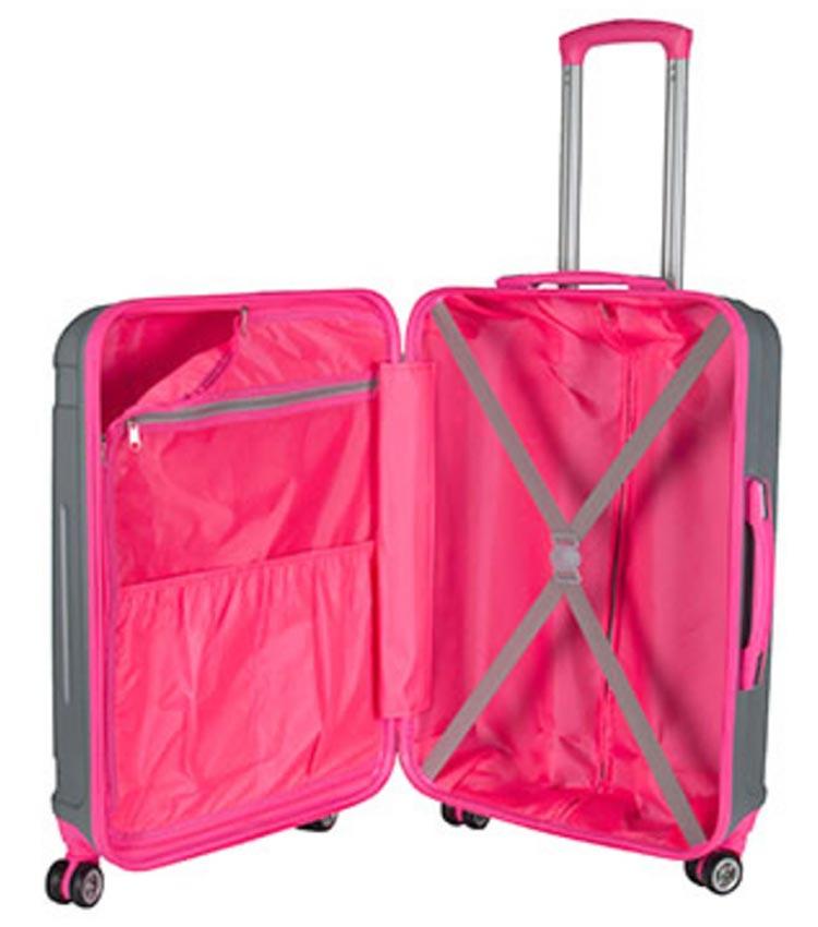Средний чемодан спиннер Paso 19-201P (66-см)