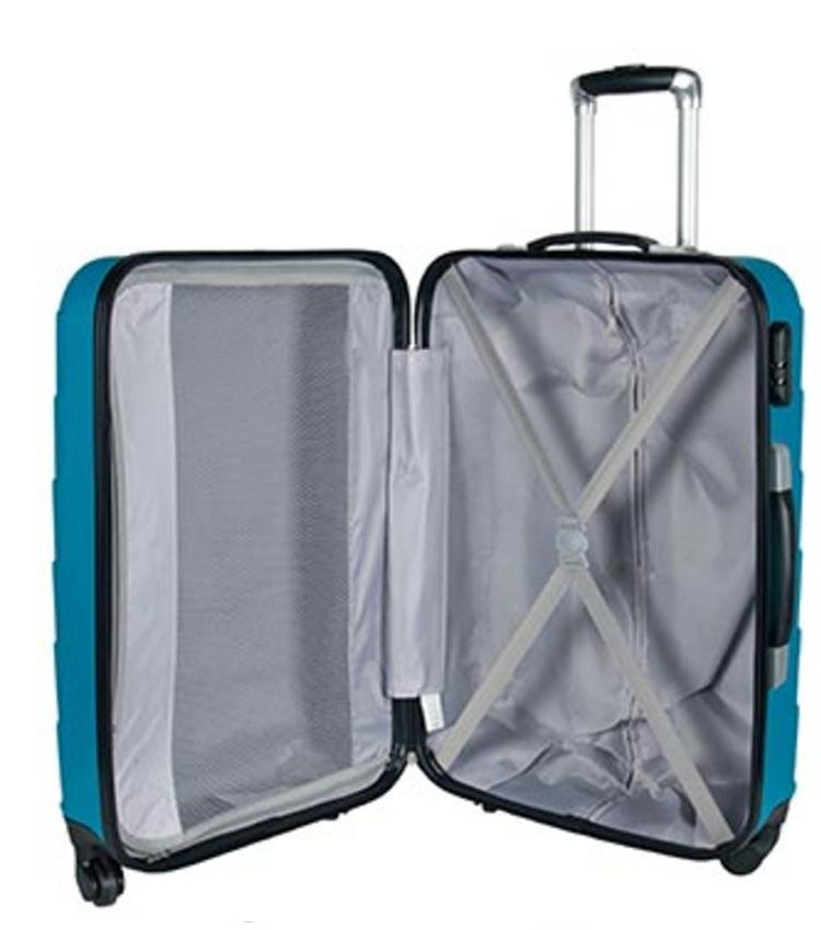 Средний чемодан спиннер Paso 19-938N (69см)