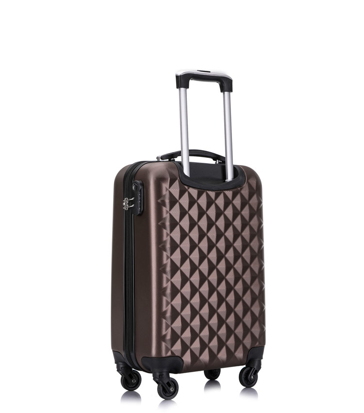 Малый чемодан спиннер L-case Phatthaya coffe (60 см)