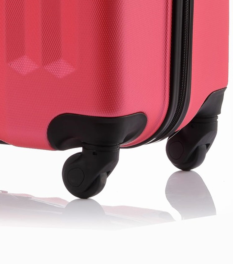 Средний чемодан спиннер Lcase Phuket mint (69 см)