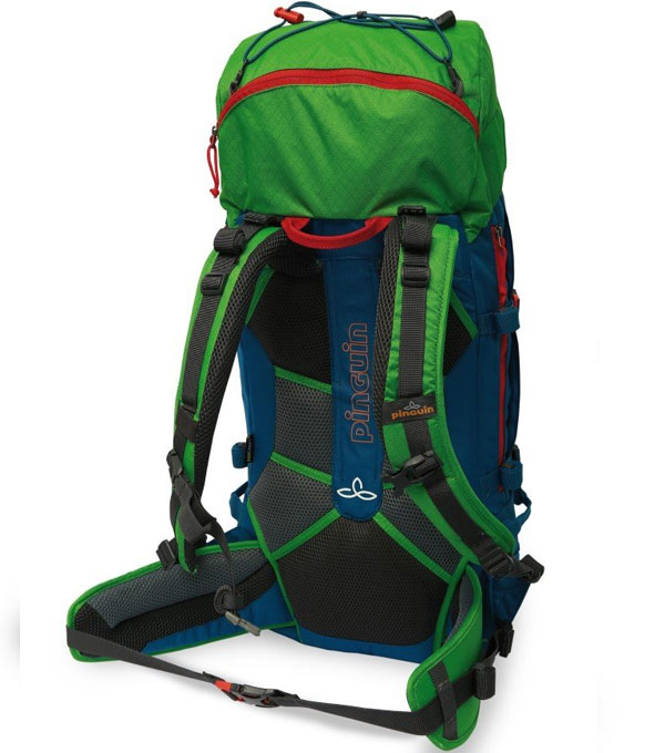 Туристический рюкзак Pinguin Boulder 38 green