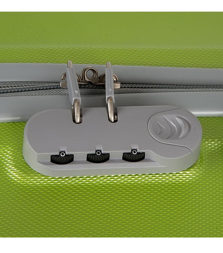Чемодан-спиннер Polar 12016 lime (70 см - большой)