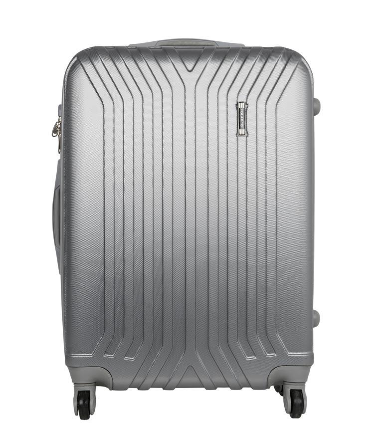 Чемодан-спиннер Polar 12032 grey (75 см - большой)