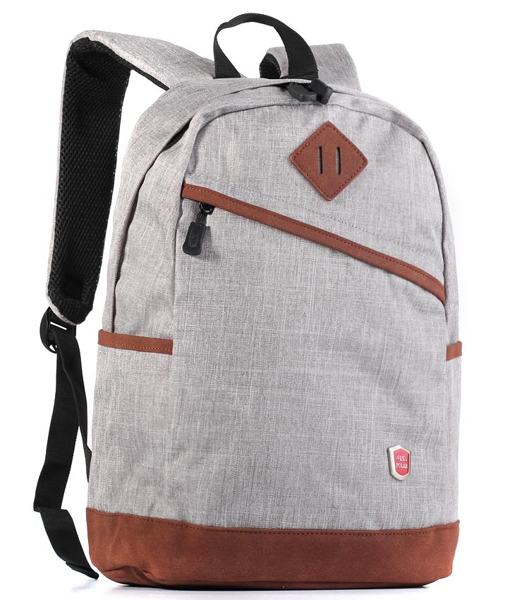 Рюкзак Polar 16012 light-gray