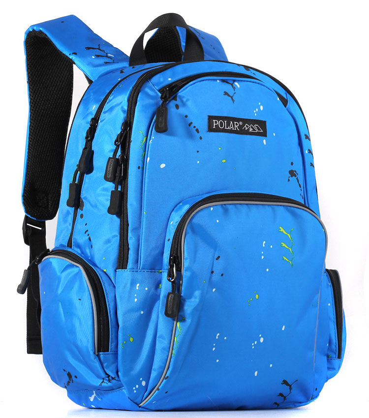 Рюкзак Polar 17303 animal blue
