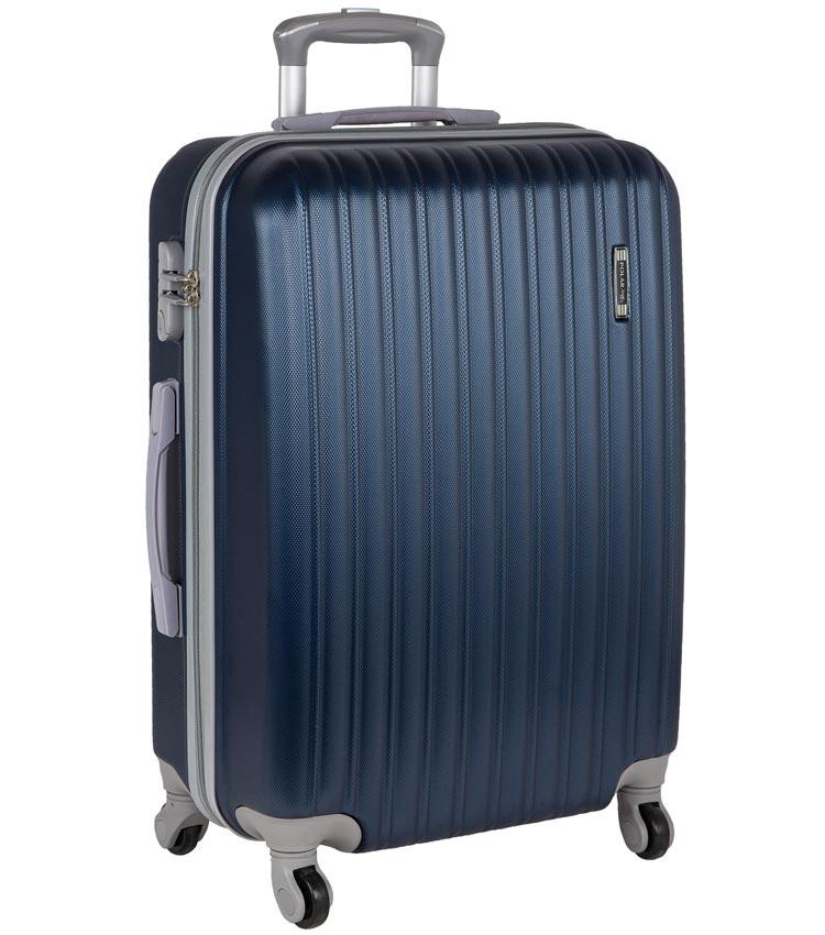 Большой чемодан-спиннер Polar 22031 dark-blue 73 см