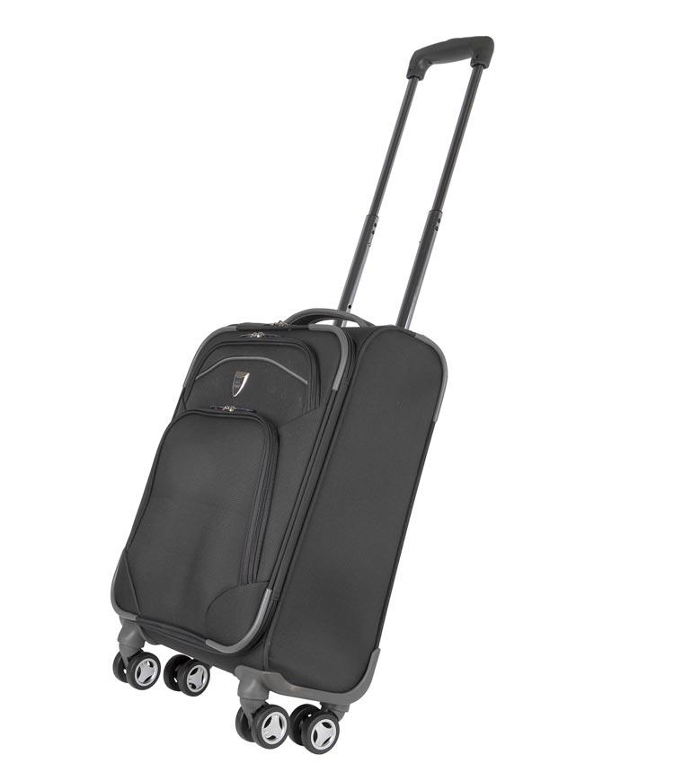 Малый чемодан-спиннер Polar 4102 black (48 см) ~ручная кладь~