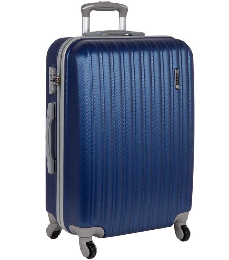Большой чемодан-спиннер Polar 12031 blue (73 см)