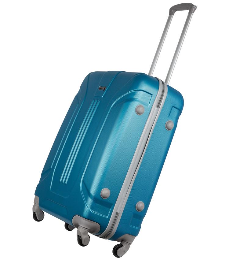 Малый чемодан-спиннер Polar 12059 blue (61 см)