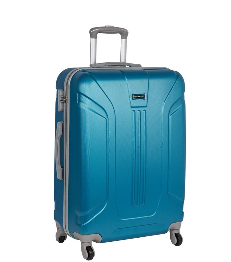 Средний чемодан-спиннер Polar 12059 blue (68 см)