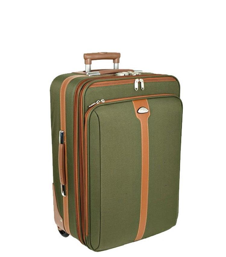 Малый чемодан Polar 8887 green (55 см)