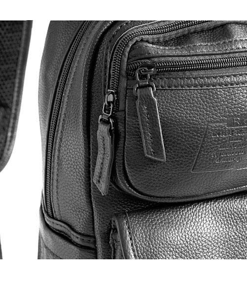 Женский черный рюкзак R-cruzo 8005 black