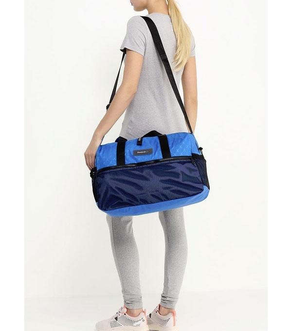 Спортивная сумка Reebok Studio duffle blue