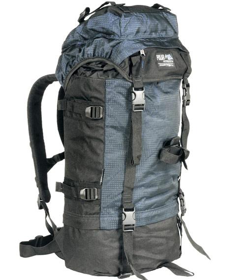 Рюкзак туристический Polar 930 синий (40 L)