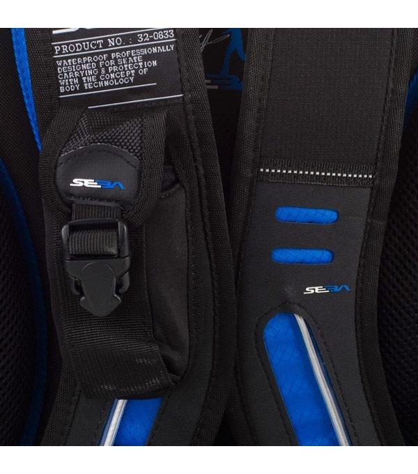 Рюкзак для роликов Seba small синий