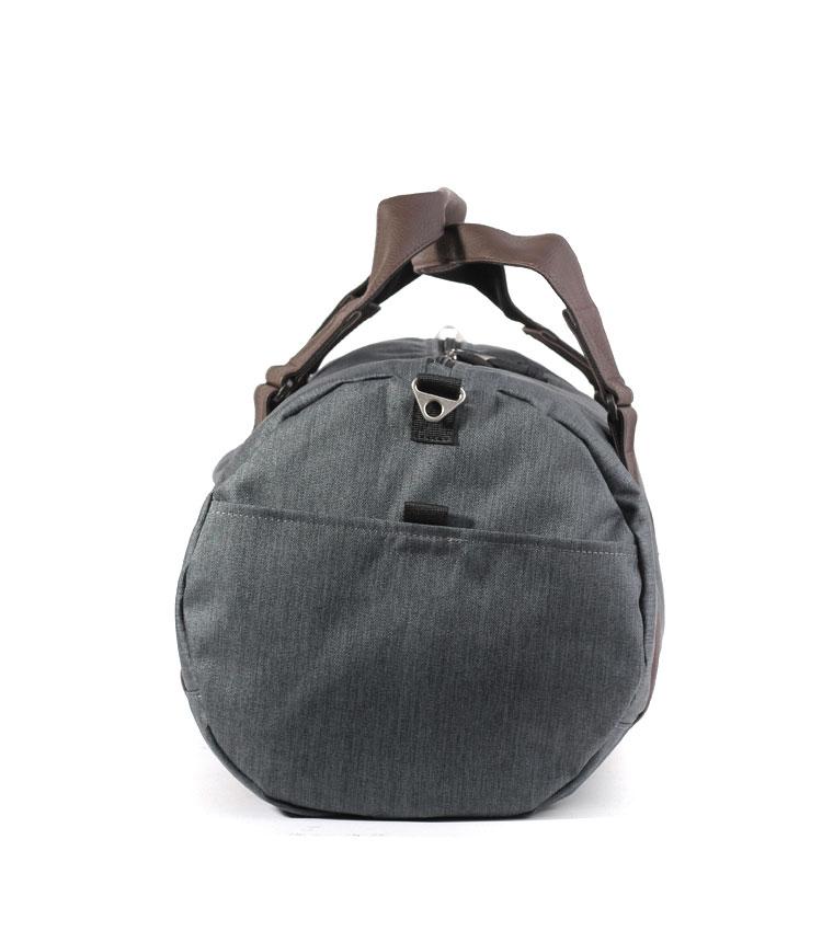 Спортивная сумка Studio58 7055 black-brown-leather