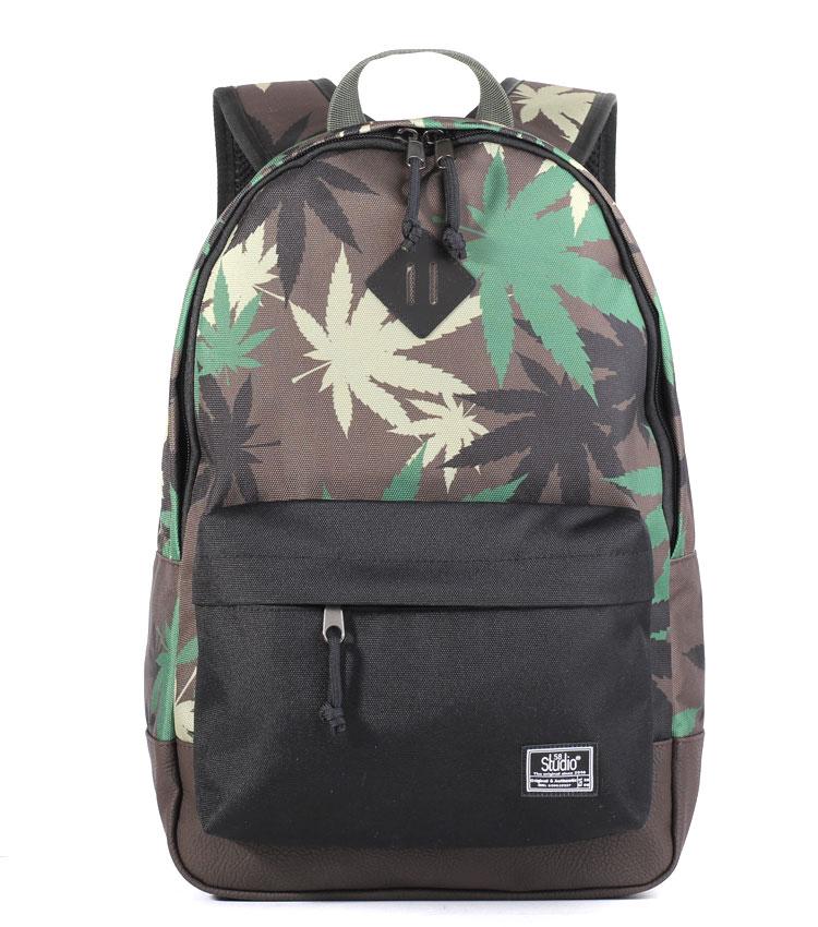 Рюкзак Studio58 M310 cannabis-camo-lether