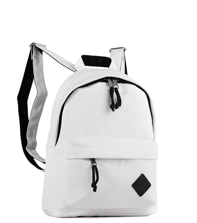 Женский рюкзак Studio58 m202 white-leather