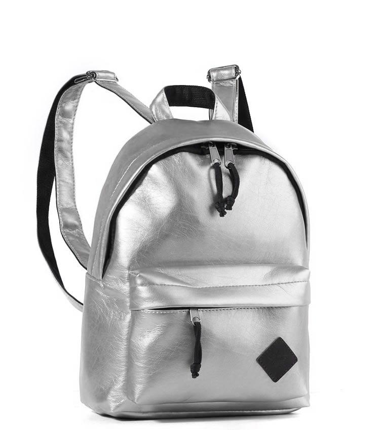 Женский рюкзак Studio58 m202 silver-leather