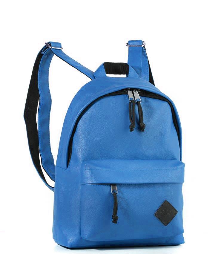 Женский рюкзак Studio58 m202 blue-leather