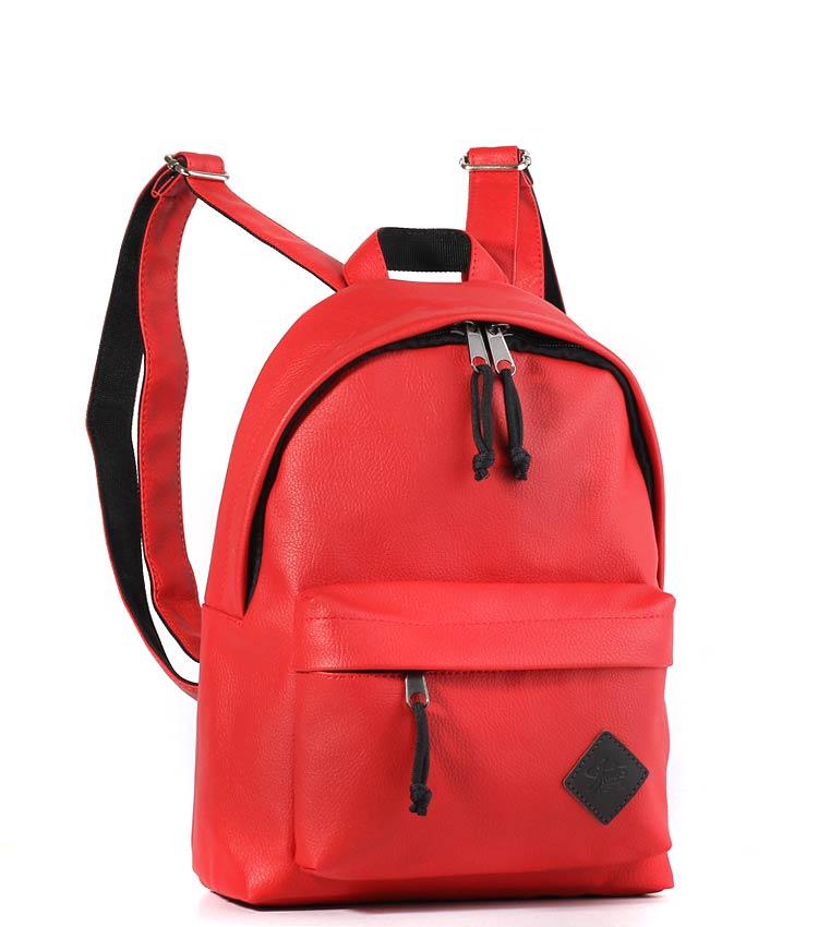 Женский рюкзак Studio58 m202 red-leather