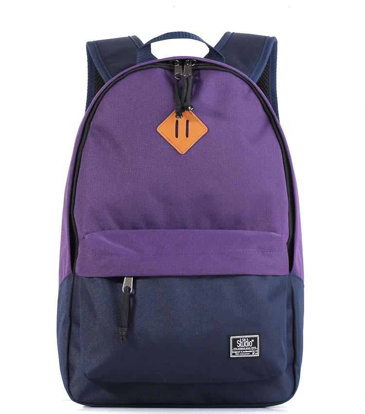 Рюкзак Studio58 M311 purple-d.blue